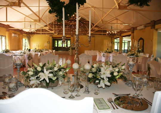 Franschhoek Wedding Receptions Venue